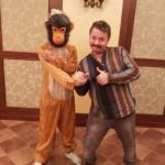 обезьяна танец фото видео самсунг 025