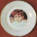 1 тарелка